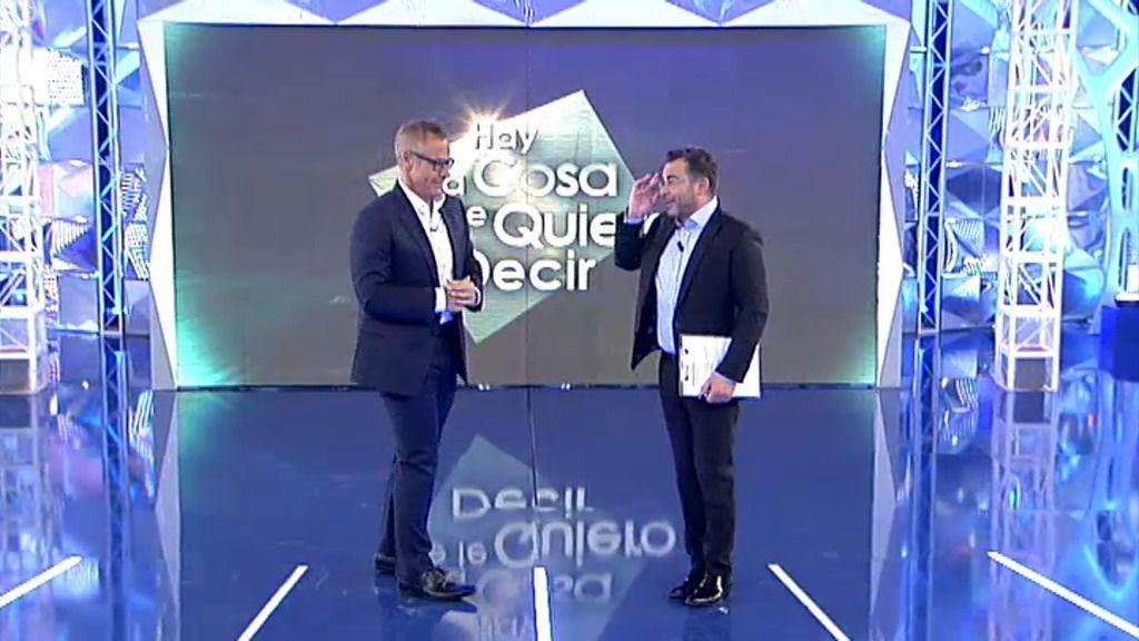 "Jorge Javier Vázquez le pasa el testigo a Jordi González: ""Los sábados son tuyos"""