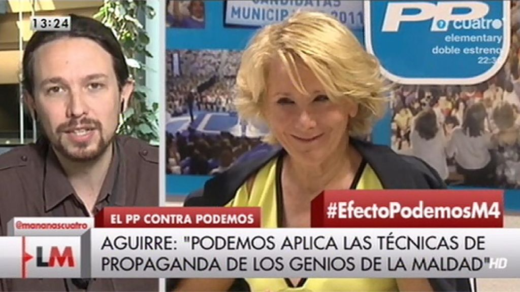"""Iglesias, de Aguirre: """"No sé qué hemos hecho para merecer dirigentes políticos así"""""""