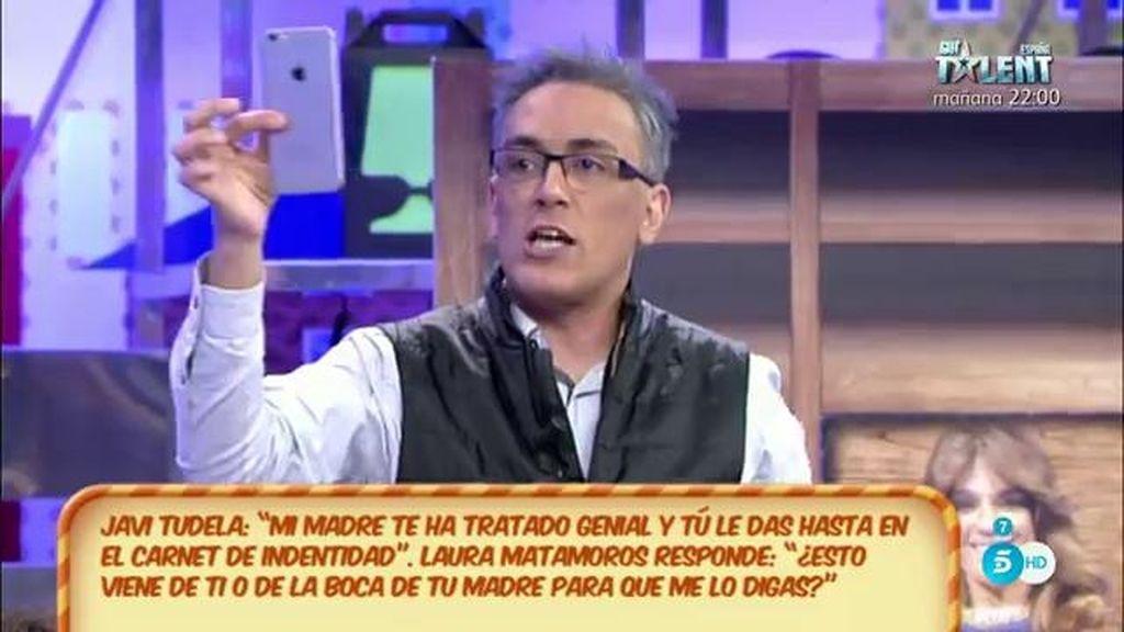 """Kiko H.: """"El discurso que dio Javier Tudela para entrar en la casa se lo escriben al móvil"""""""