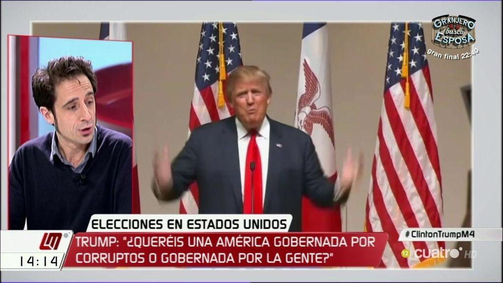 """Gallego: """"Trump es un xenófobo, machista y retrogrado con discurso demagógico"""""""