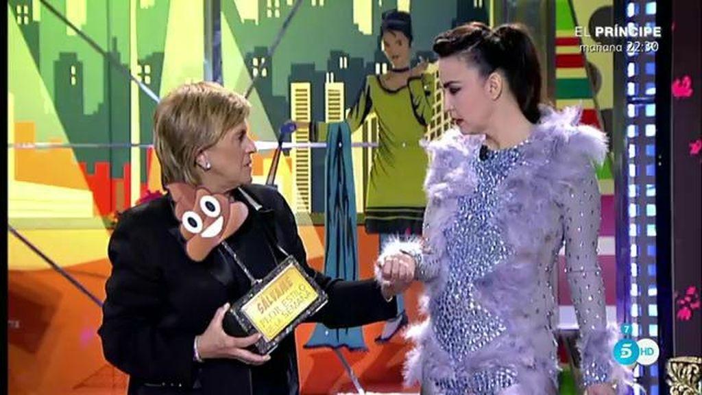 La mejor vestida es Mila y la peor, Chelo García-Cortés, según Cristina Rodríguez