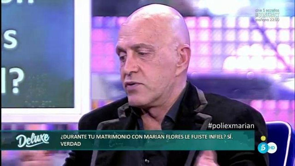 Kiko Matamoros fue infiel a Marián Flores mientras estaban casados