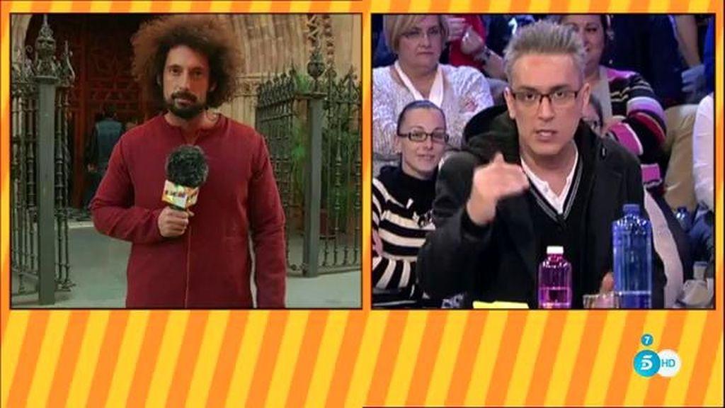 Kiko Rivera y el párroco ya han discutido, según Kiko Hernández