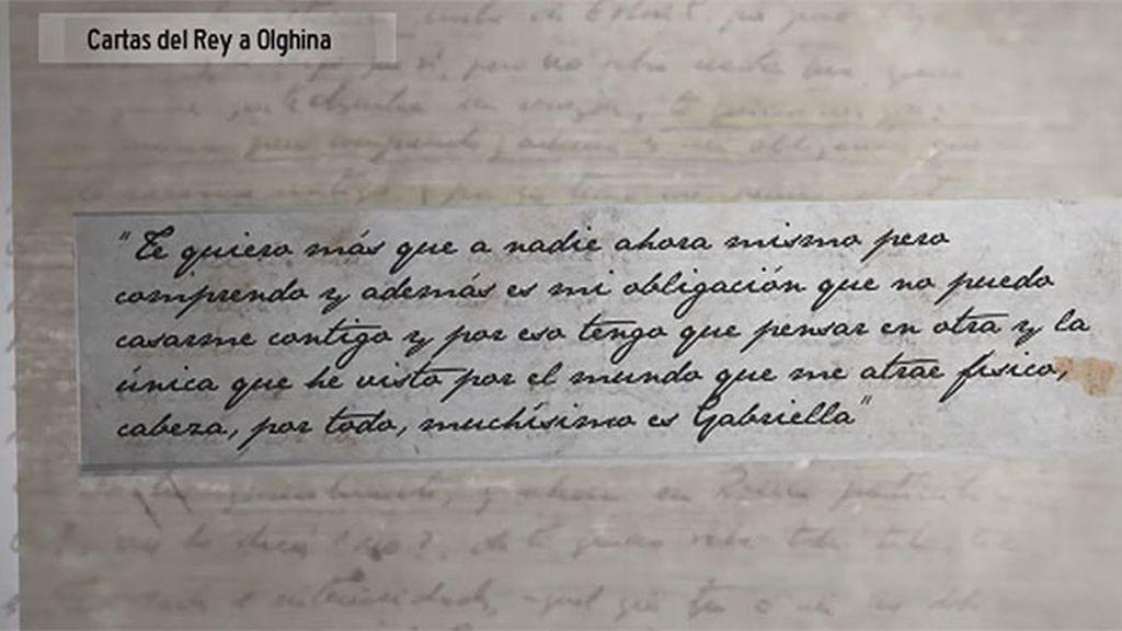 Las cartas de amor del Rey a Olghina