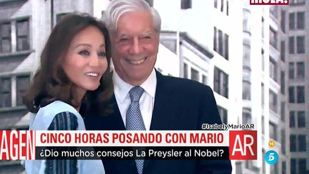 Así se hicieron las fotografías del posado de Isabel Preysler y Vargas Llosa