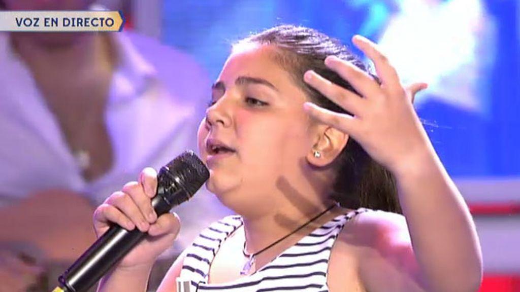 Yudit García canta con mucha pasión 'Se nos rompió el amor', de Rocío Jurado