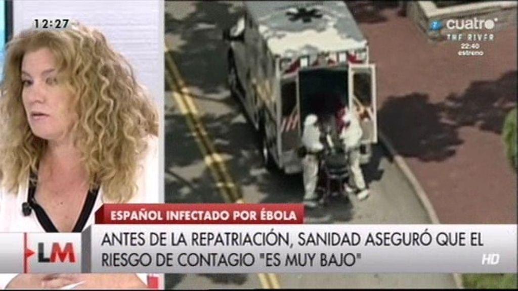 """Graciella, periodista: """"Nos hemos traído a Europa uno de los virus más letales"""""""