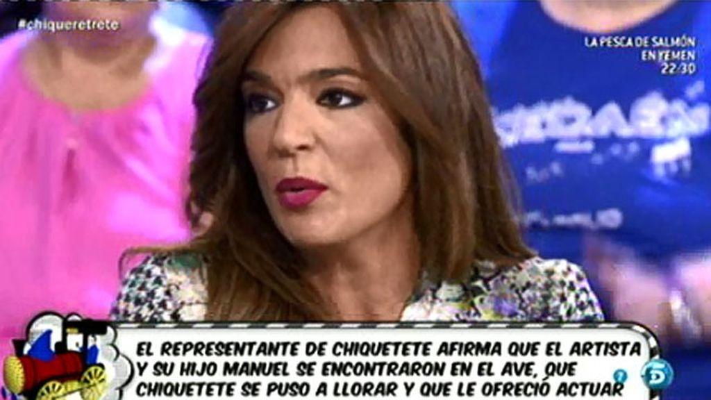 """Raquel Bollo: """"Lo único que puede hacer Chiquetete es llevar a su hijo al abismo"""""""