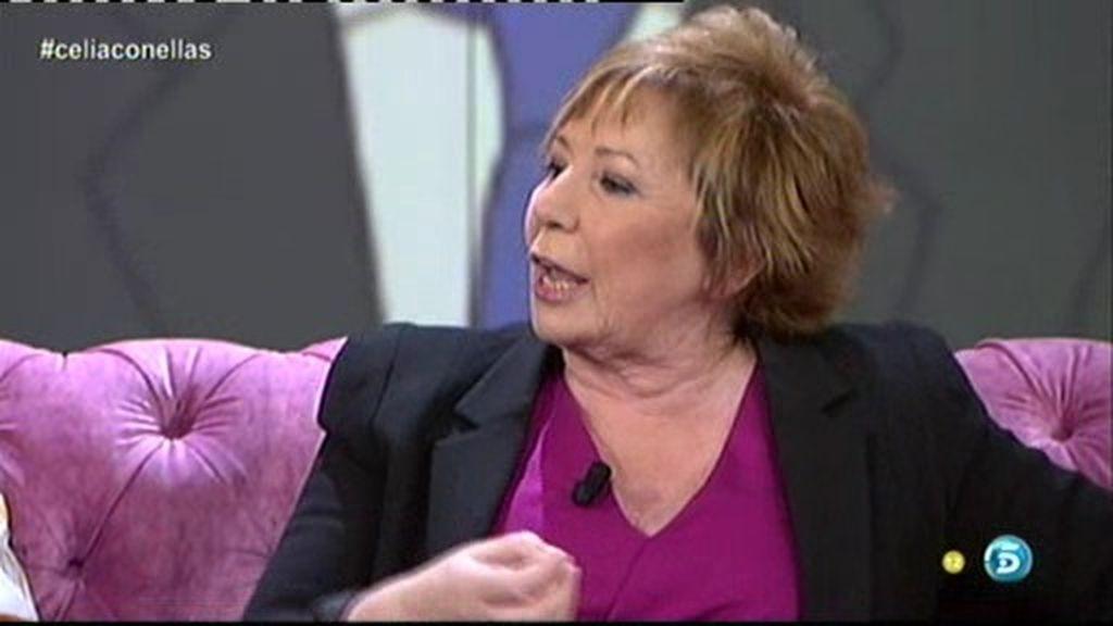"""Celia Villalobos: """"Yo me he manifestado cuando estaba prohibido hacerlo"""""""