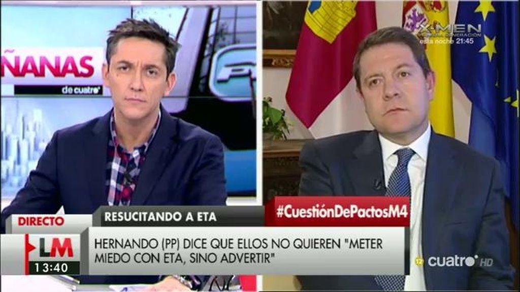 La entrevista a Emiliano García-Page en 'LMDC', a la carta