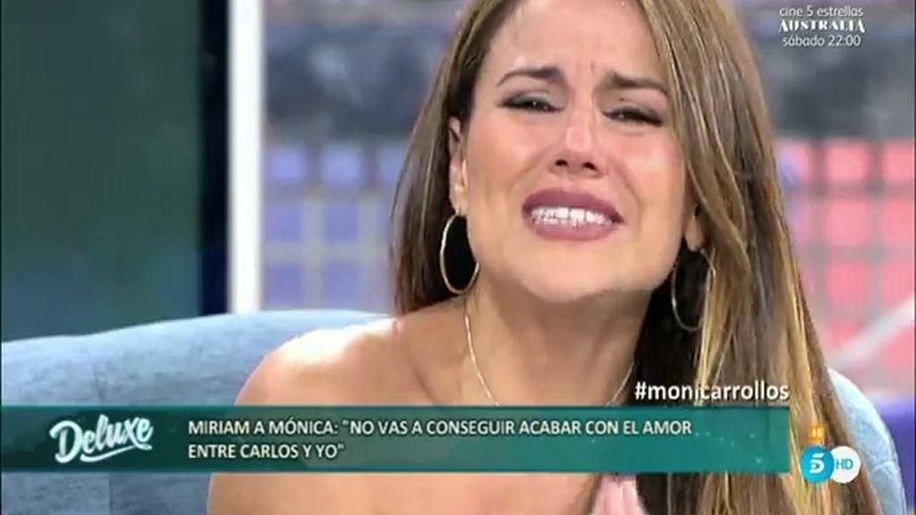 """Mónica se derrumba: """"Me he dejado las yemas de los dedos como exmujer"""""""