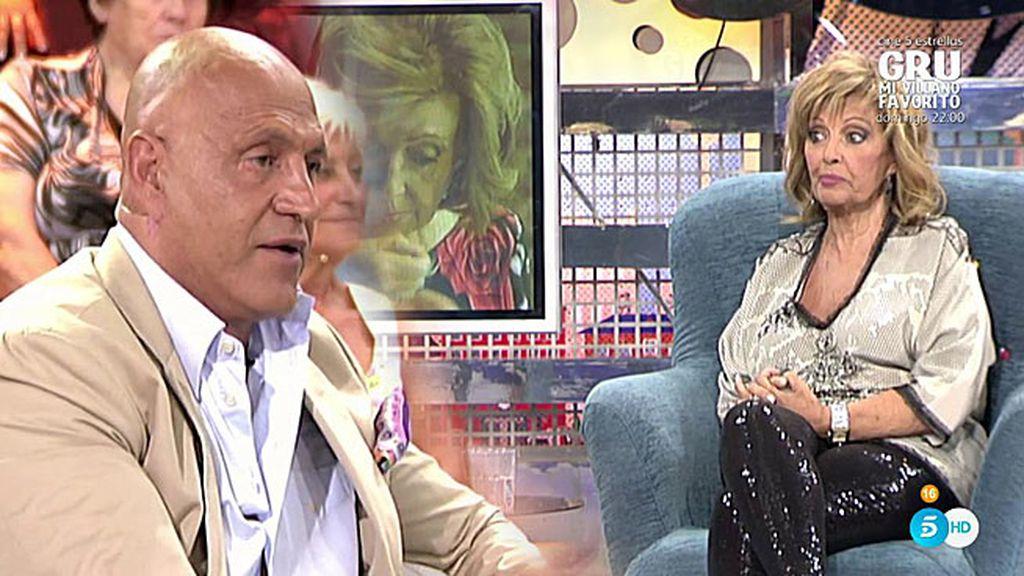 """El zasca de Mª Teresa, a Kiko M.: """"¿Le digo a Edmundo que te pinte la calva?"""""""