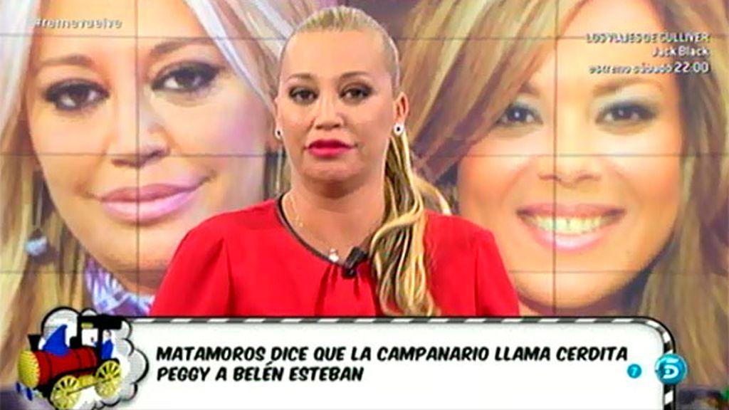 """Belén, sobre Mª José Campanario: """"¿Quién es más 'cerda', ella o yo?"""""""
