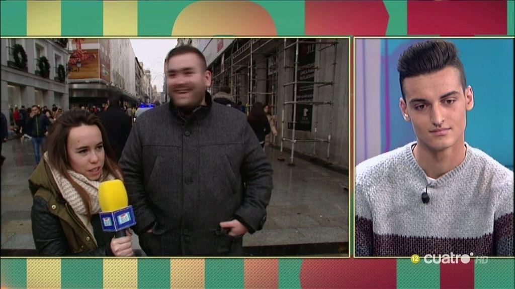 Selfi callejero: Mr. GranBomba o el repartidor