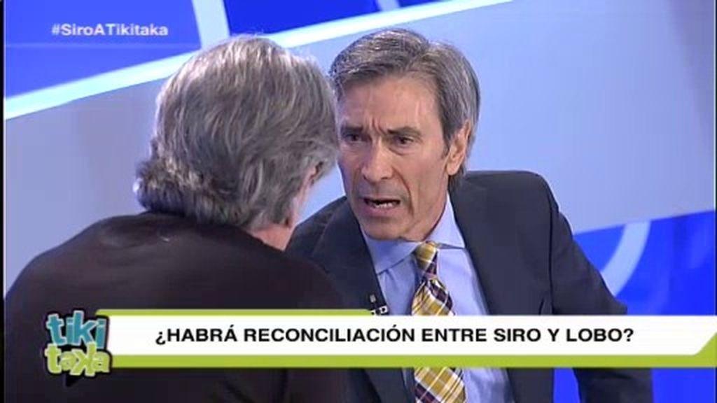 """Lobo Carrasco, cara a cara con Siro: """"Yo nunca te voy a perder el respeto"""""""