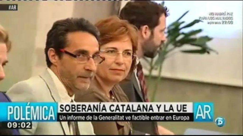 El comité de expertos de Artur Mas considera que una Cataluña independiente seguiría en la UE