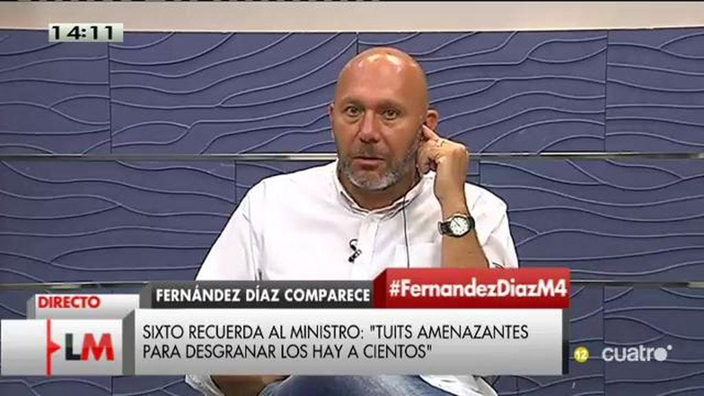 """Ricardo Sixto (IU): """"Es más que probable que hayan hablado de lo que ha querido Rato"""""""