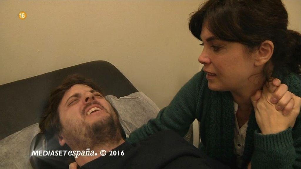 Raúl experimenta lo que es un parto en el segundo trimestre de embarazo de Samanta