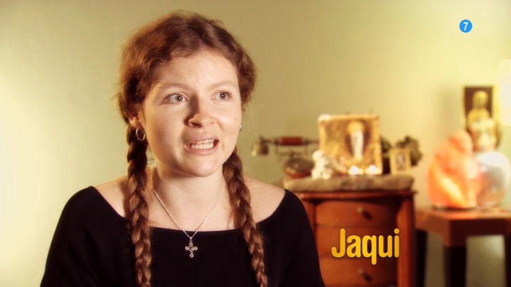 """Jaqui quiere ser monja: """"Dios es mi amigo porque los dos pensamos lo mismo"""""""
