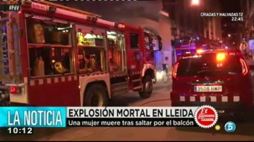 Explosión mortal en Lleida