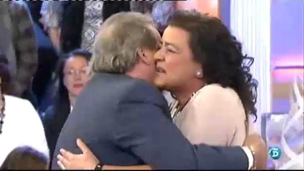 El 'tito' Juan sorprende a María del Monte