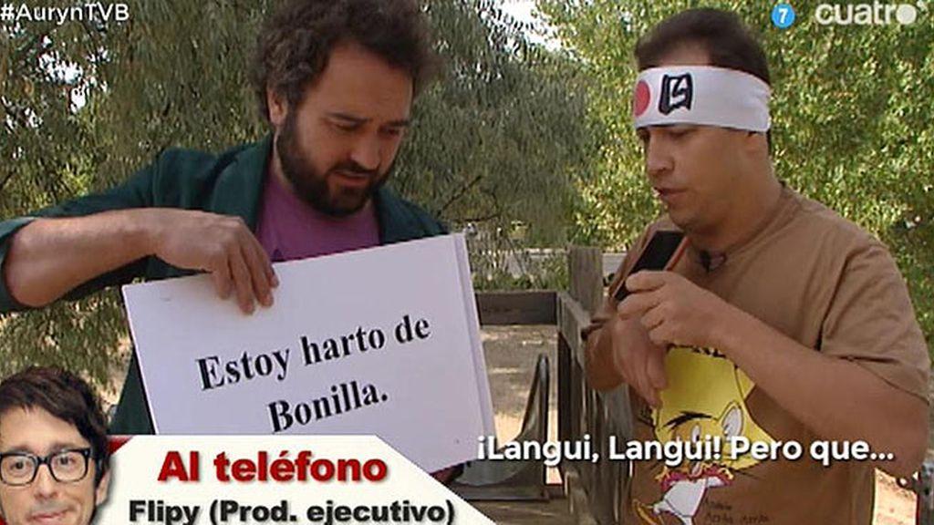Kamikaze VIP: El Langui se la cuela a Flipy, productor ejecutivo de 'Chiringuito de Pepe'