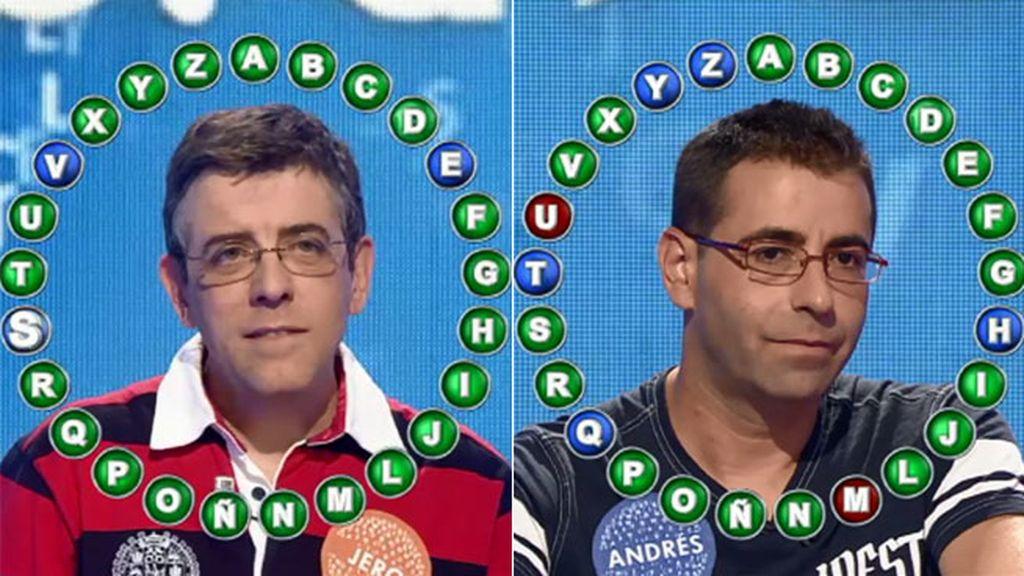 Jero vence a Andrés por cuatro aciertos