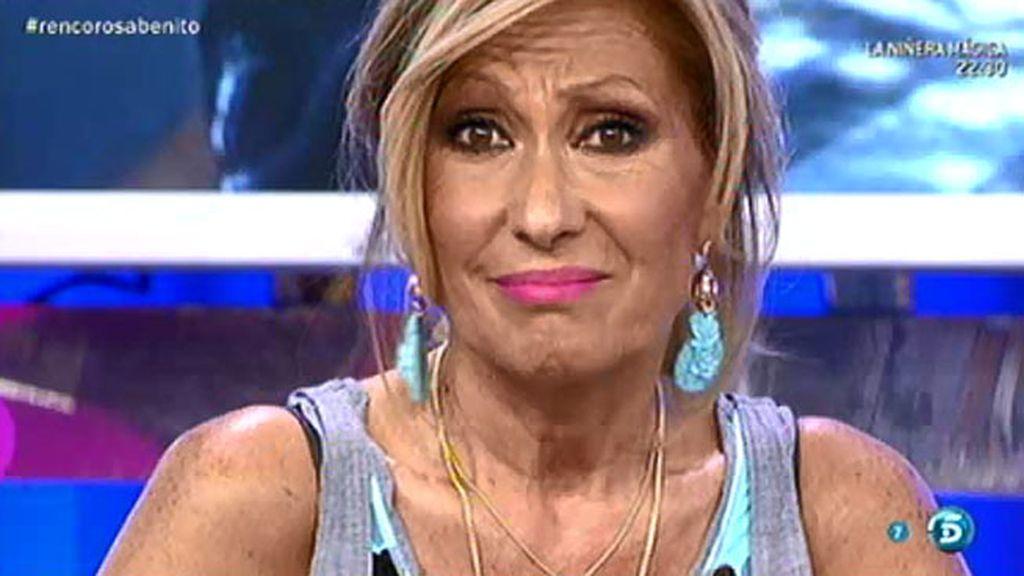 """Rosa Benito, a Amador Mohedano: """"Voy a hablar aquí lo que me de la gana"""""""