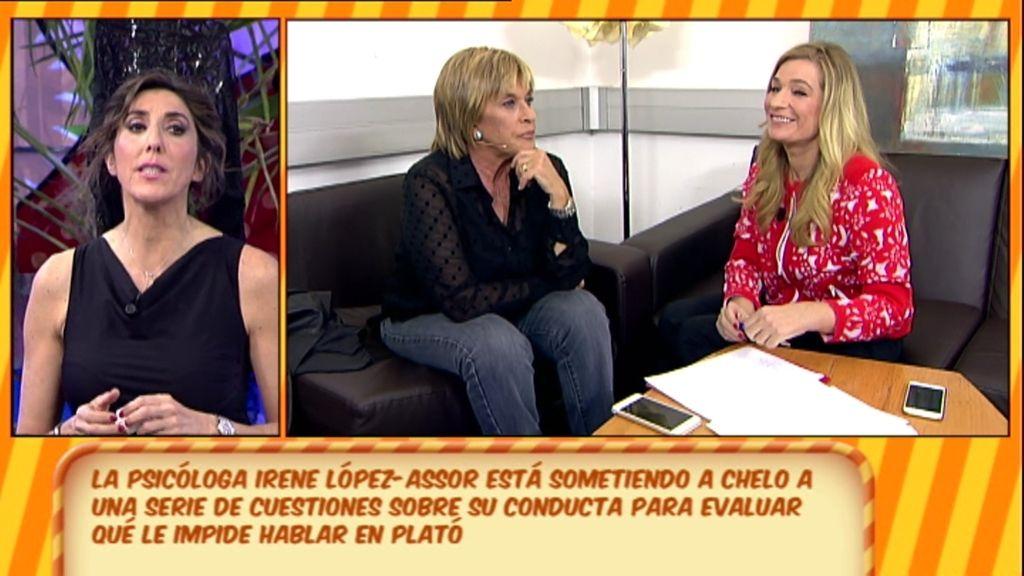 """La conclusión de Irene López-Assor al 'enigma Chelo': """"Tiene mucho miedo a hacer daño"""""""