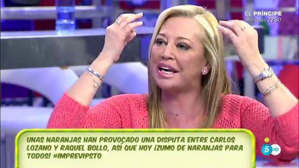 """Belén Esteban: """"Yo voy a pedir que salga Carlos Lozano"""""""