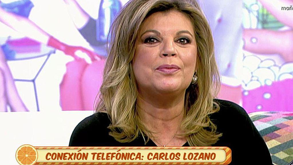 """Carlos Lozano: """"Terelu Campos nunca me ha tirado los tejos"""""""