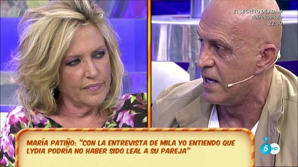 """Kiko M. a Lydia Lozano: """"No me gustan las declaraciones de Mila, pero te las mereces"""""""