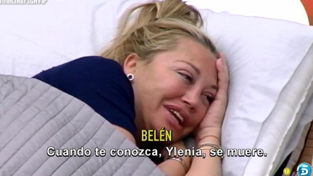 """Belén quiere que su hija conozca a Ylenia: """"Cuando Andrea te conozca, se muere"""""""
