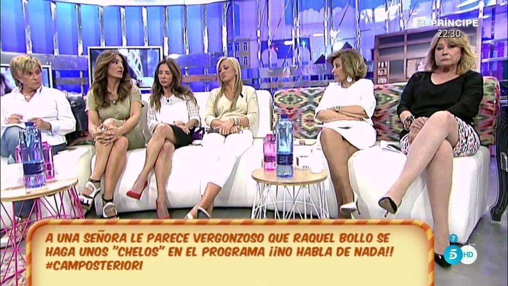 """Mila Ximénez, a Raquel Bollo: """"Me parece alucinante lo poco que le recrimináis a Pantoja el trato que os ha dado"""""""