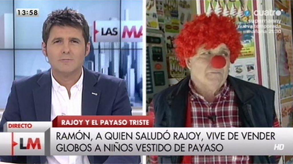 Entrevista con Ramón, el 'payaso' al que Rajoy saludó