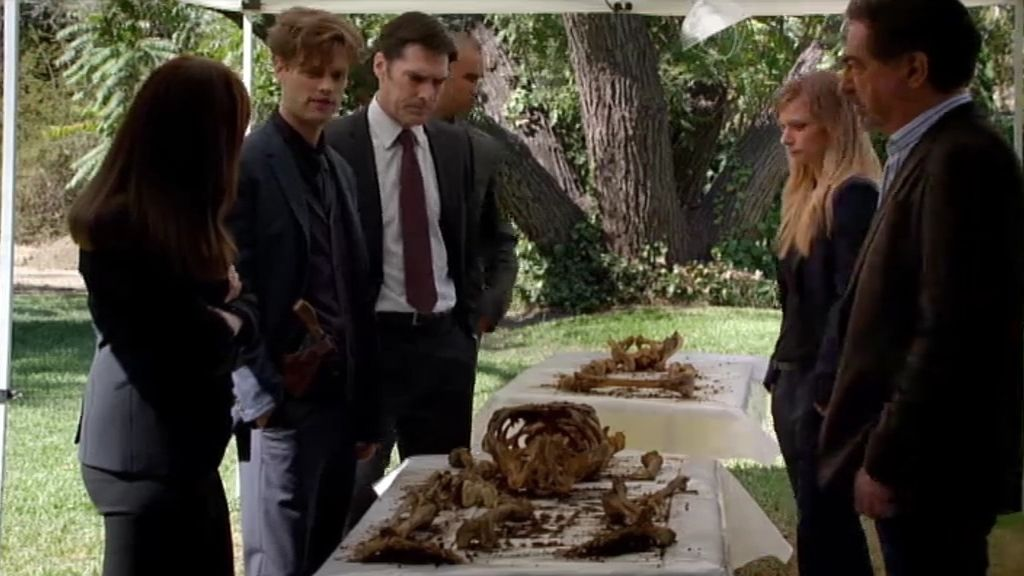 Esqueletos enterrados en el jardín, en lo nuevo de 'Mentes Criminales'