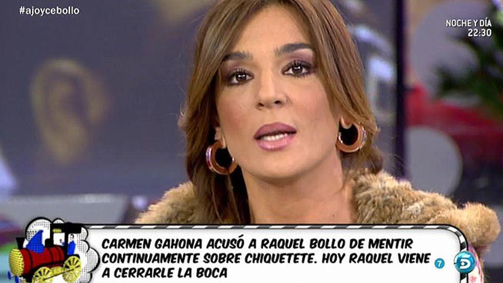"Raquel Bollo, a Carmen Gaona: ""No eres nadie para juzgarme, he sido padre y madre"""
