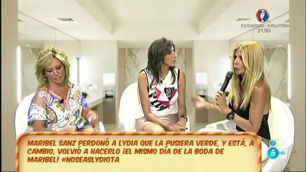 """M. Sanz pilló a Lydia criticando su vestido en su boda: """"No me importa su amistad"""""""