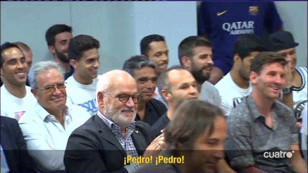 """Pedro: """" Lo cómodo hubiera sido quedarse aquí y salir bien en la foto"""""""