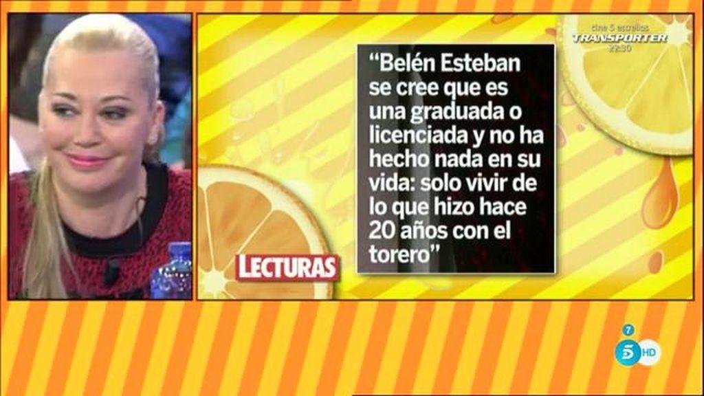 El mensaje de disculpa de Fran Nicolás a Belén Esteban