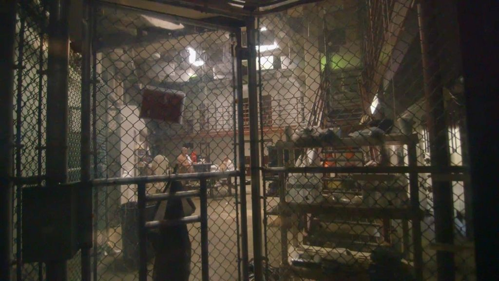 'Fuera de cobertura' consigue grabar a varios presos de Guantánamo