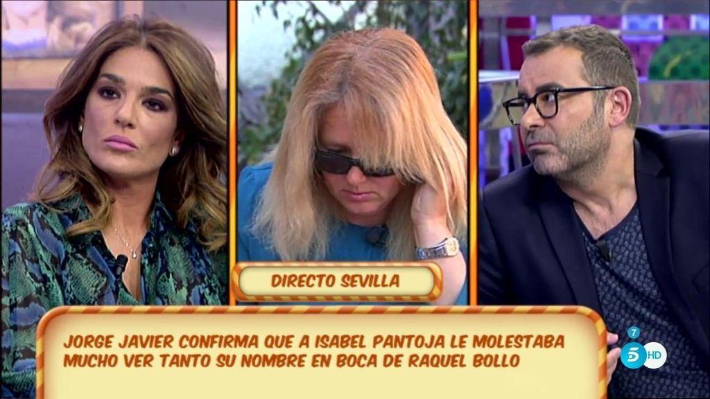 """J.J., a Raquel Bollo: """"Pantoja me dijo que, en algún momento, hablabas mucho de ella"""""""
