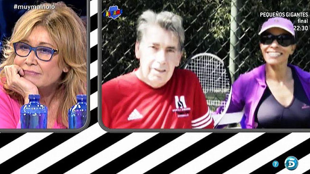 """Manolo Santana y Claudia: """"Estamos muy contentos en todos los aspectos"""""""