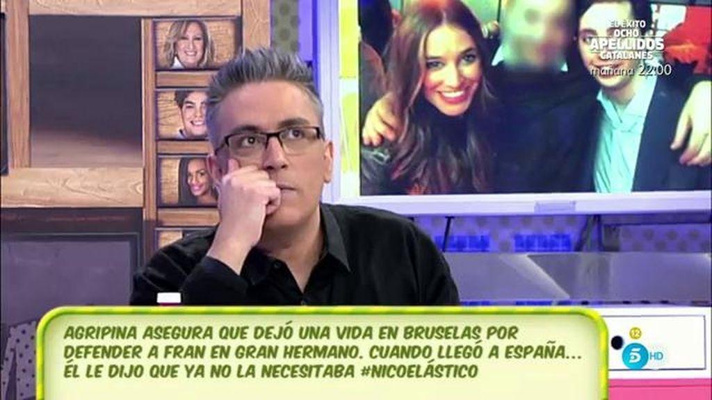 Francisco Nicolás desmiente el testimonio de una chica que le acusa de haberle engañado