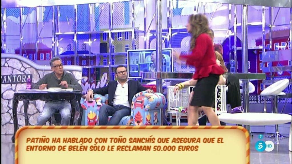 """María Patiño: """"Toño Sanchís es un mentiroso"""""""