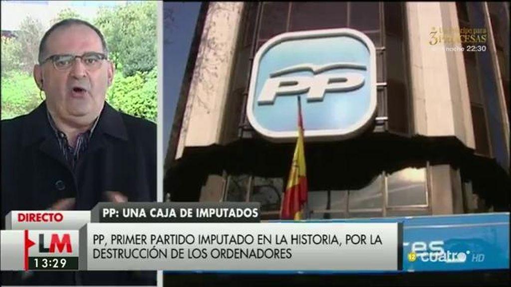 """A. Losada: """"El PP es un candidato imbatible para el récord Guinness de la corrupción"""""""