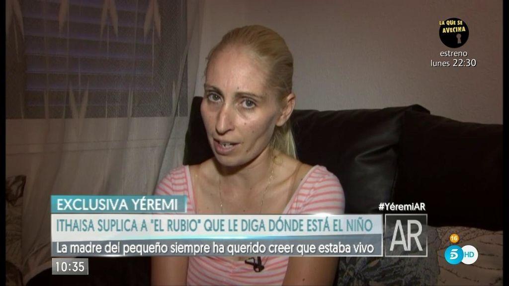 """La madre de Yéremi, a 'el rubio': """"Sólo te pido que me digas dónde está mi hijo"""""""