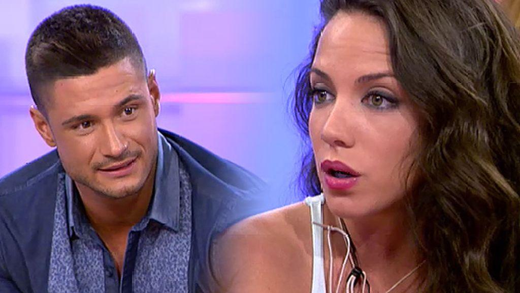 """Ángel, a Samira: """"¿Qué te pasa con Isaac? Porque no paras de mirarle"""""""