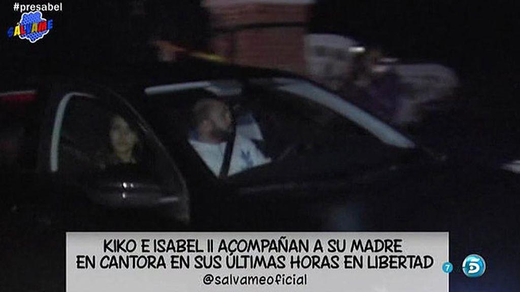 Kiko Rivera y Chabelita se desplazan a Cantora para ver a su madre