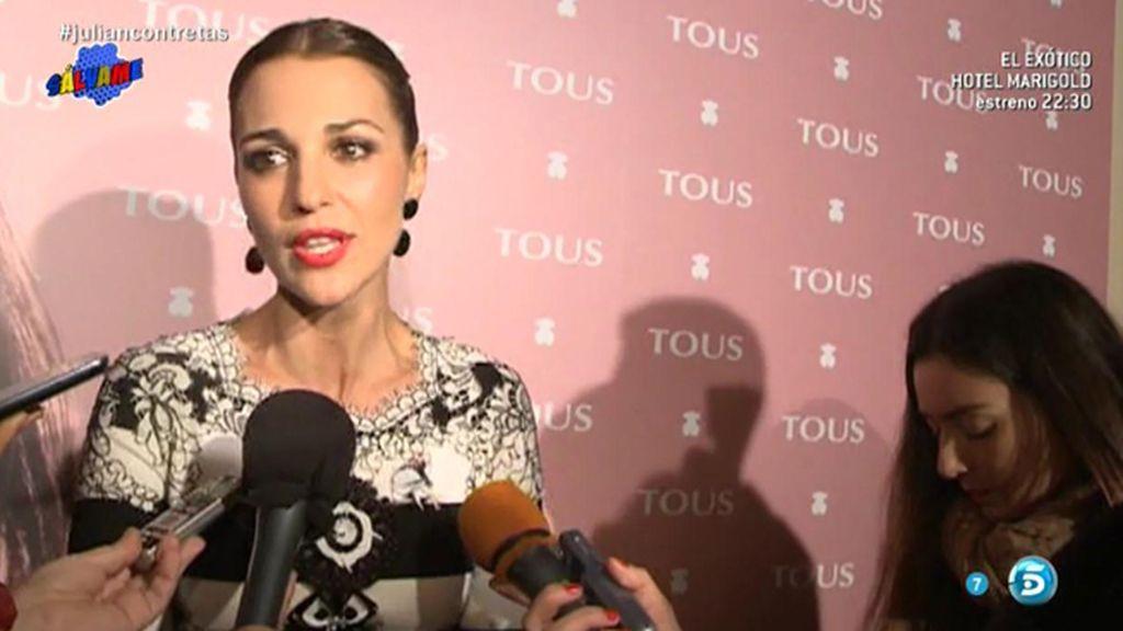 """Paula Echevarría desmiente su crisis con Bustamante: """"La gente es muy bocas"""""""